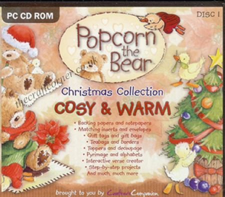 Cosy & Warm Christmas Popcorn The Bear Craft CD Rom